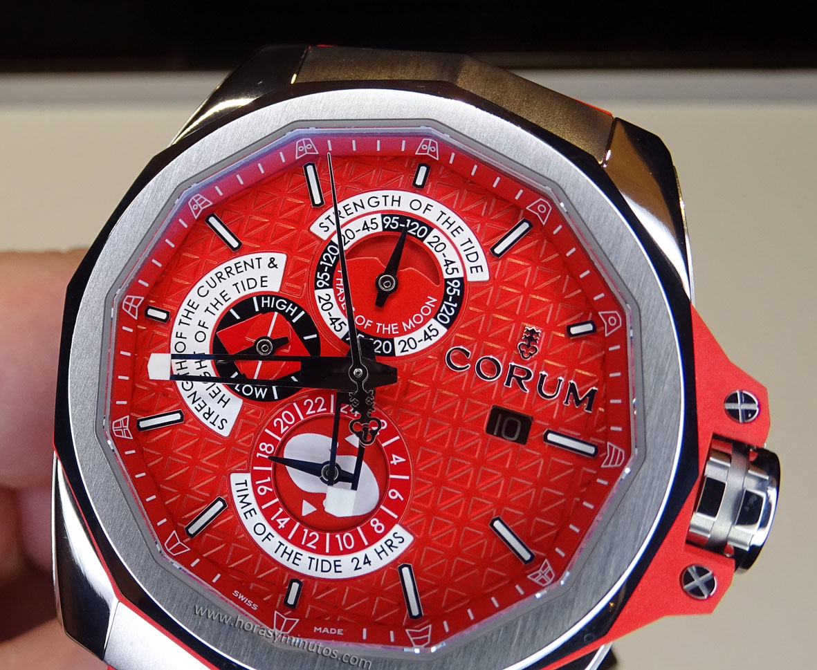Corum Admirals Cup AC-One 45 Tides frontal