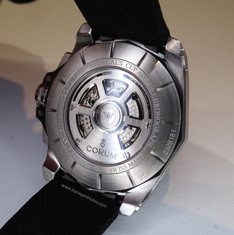 Corum Admirals Cup AC-One Chronograph - reverso