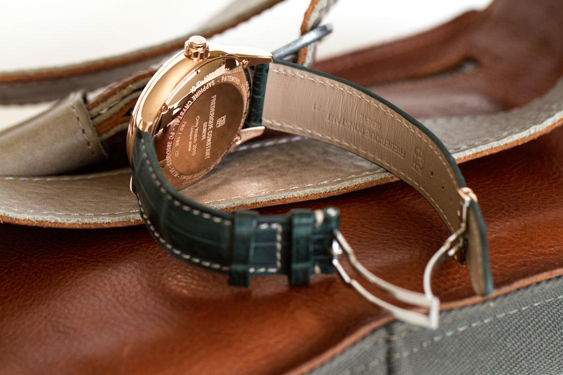 Frederique Constant Only Watch fondo grabado