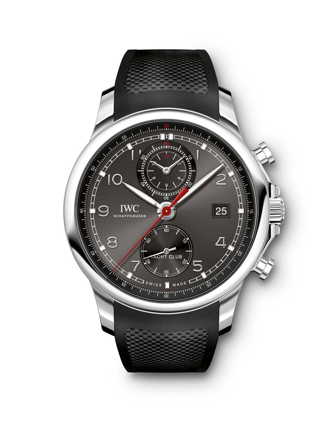 IWC Portugieser Yatch Club Chronograph acero esfera antracita