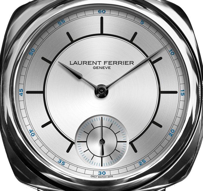 Laurent Ferrier Galet Square para Only Watch - esfera