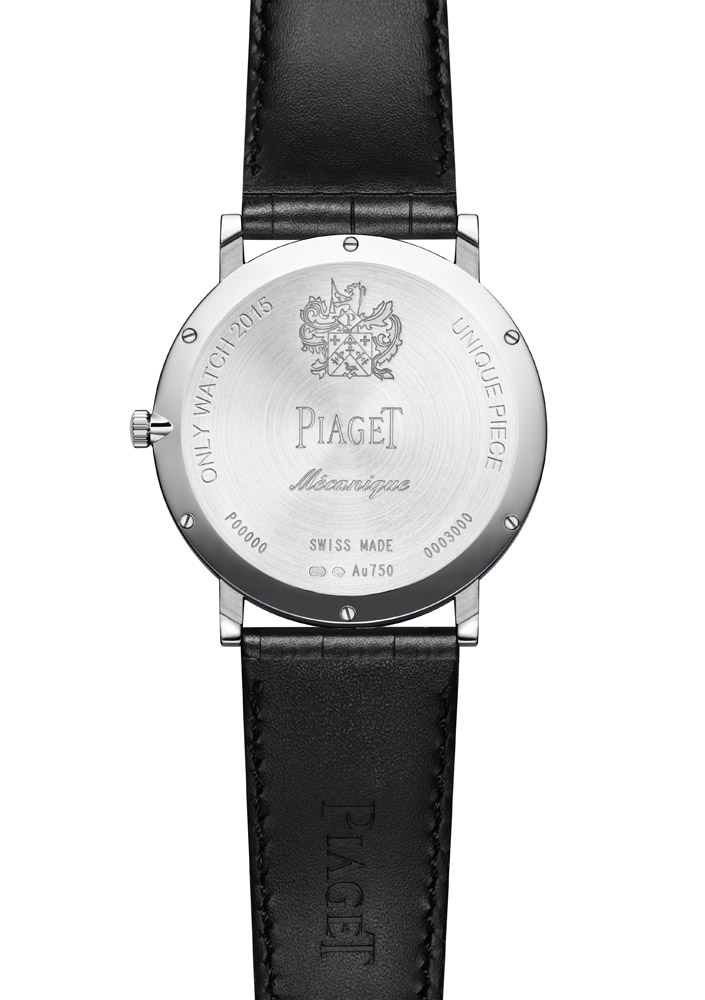 Piaget Altiplano 900P Only Watch reverso
