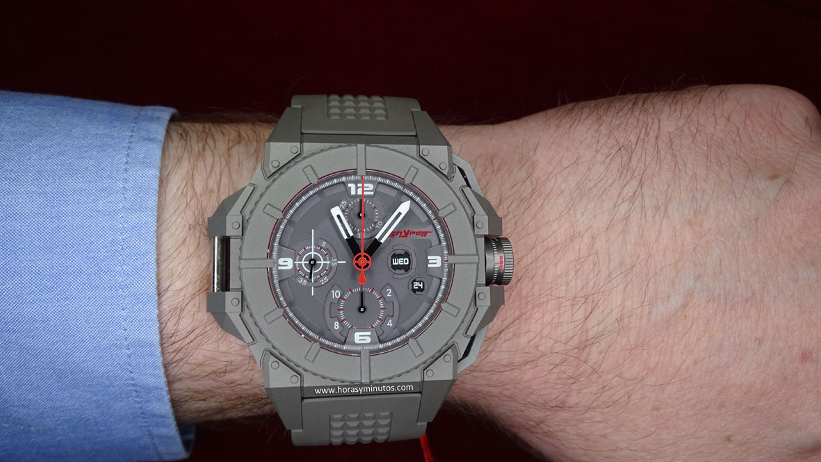Snyper One con PVD gris