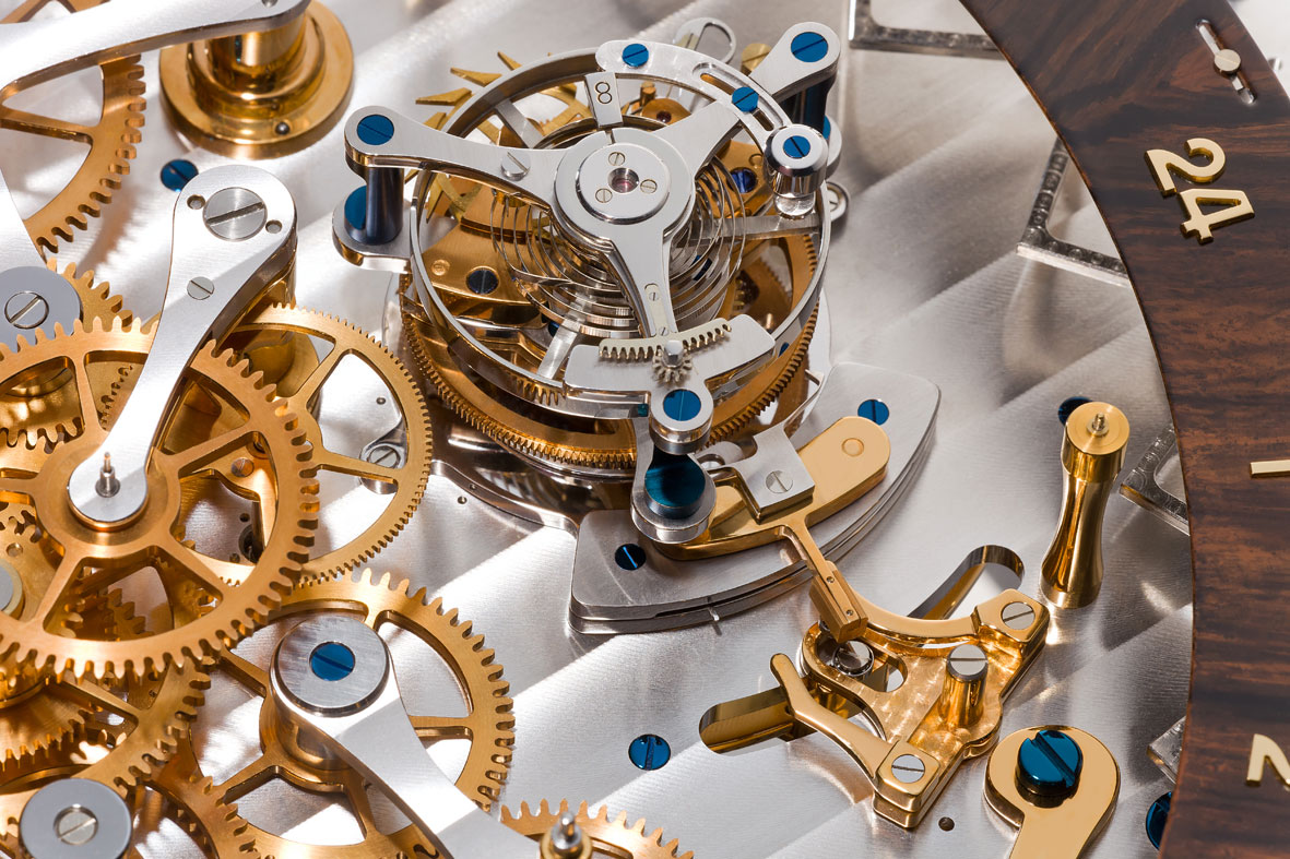Thomas Mercer Observatory detalle del volante