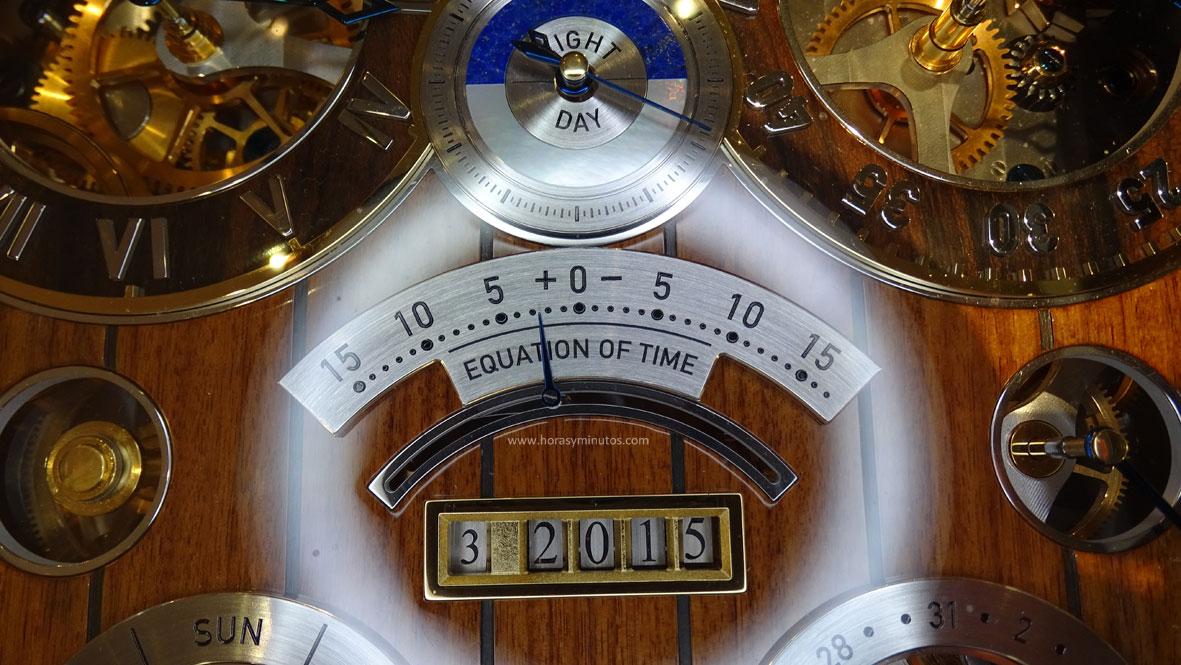 Thomas Mercer Observatory - ecuación del tiempo