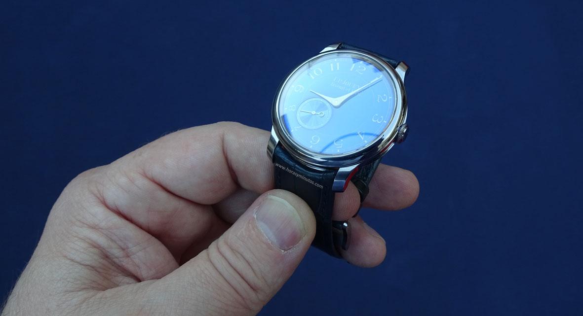 FP Journe Chronomètre Bleu cenital