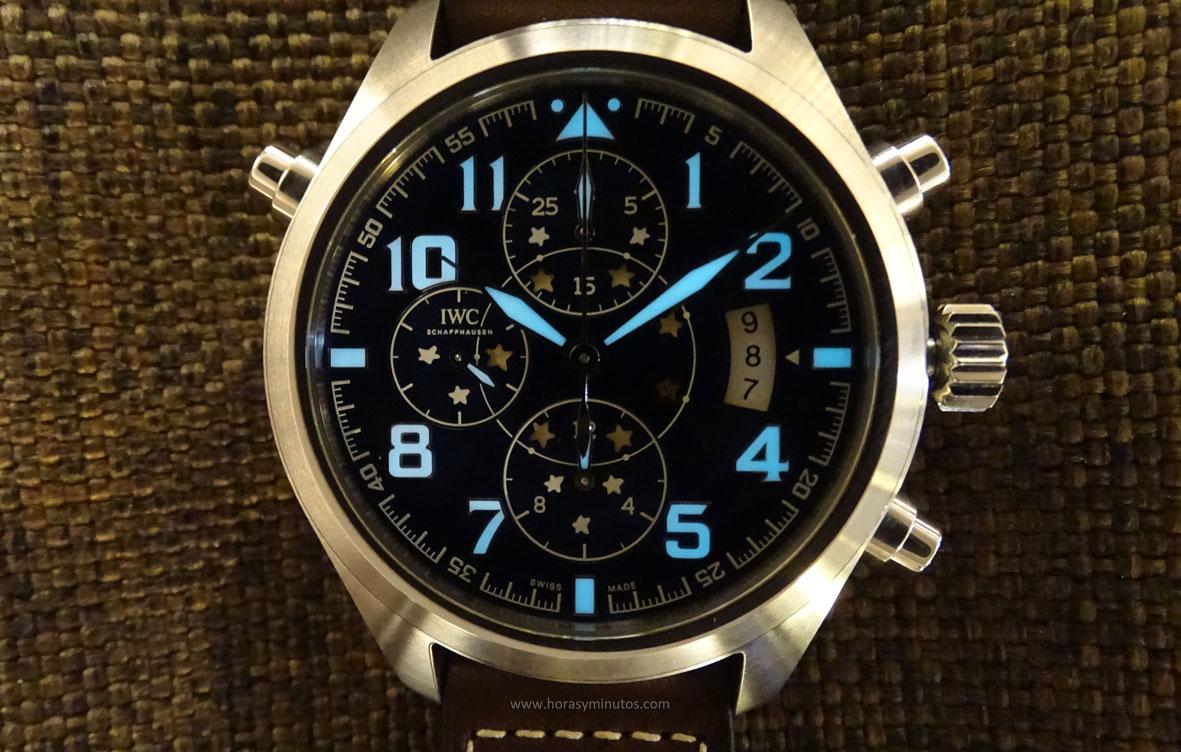 IWC Pilot's Watch Double Chronograph Edition Le Petit Prince Superluminova