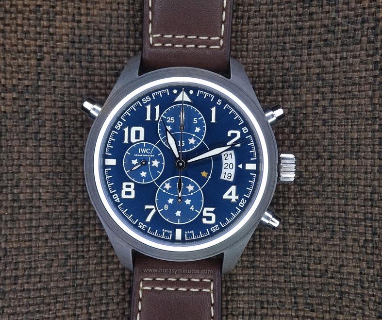 IWC Pilot's Watch Double Chronograph Edition Le Petit Prince cenital