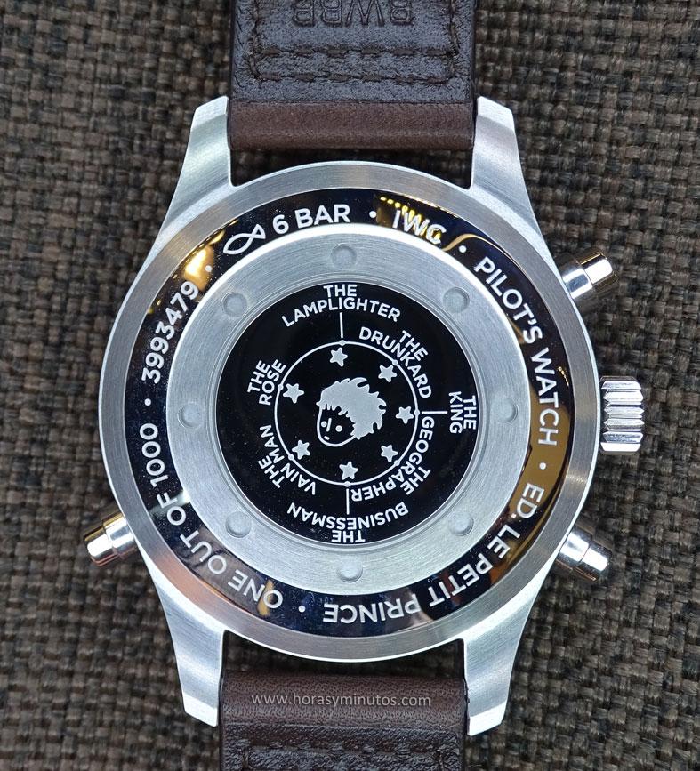 IWC Pilot's Watch Double Chronograph Edition Le Petit Prince - reverso1