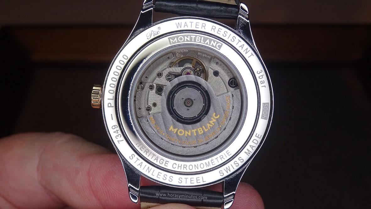 Montblanc Chronometrie Dual Time - calibre