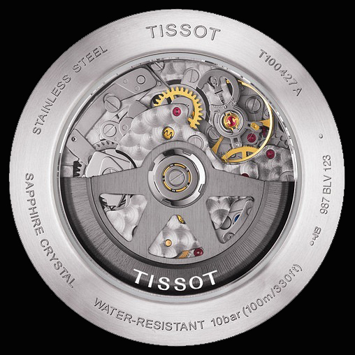 Tissot PRS 516 Automatic Chronograph azul - calibre
