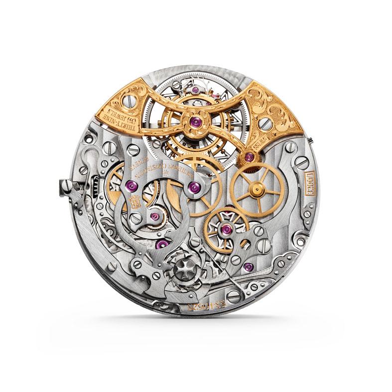 Vacheron Constantin Harmony Cronógrafo Tourbillon calibre 3200 reverso
