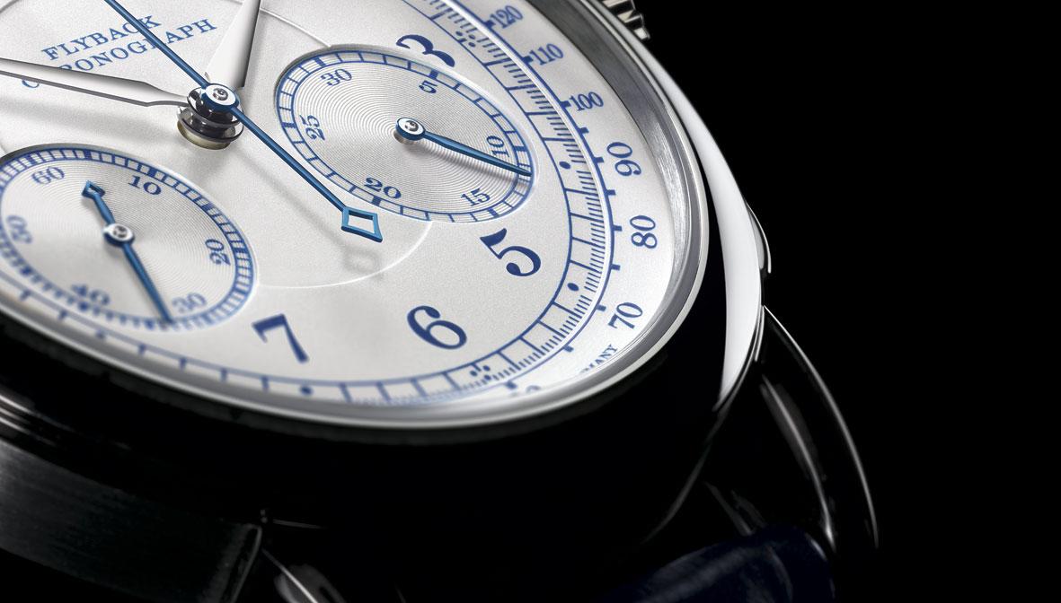 A Lange Sohne 1815 chronograph detalle