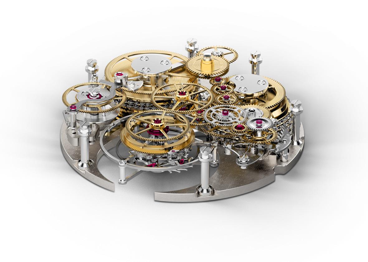 Chronomètre FERDINAND BERTHOUD FB 1 -calibre FB-T FC abierto