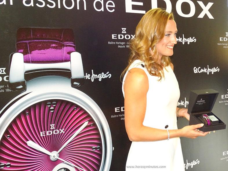 Edox LaPassion Mireia Belmonte con el nuevo reloj 3