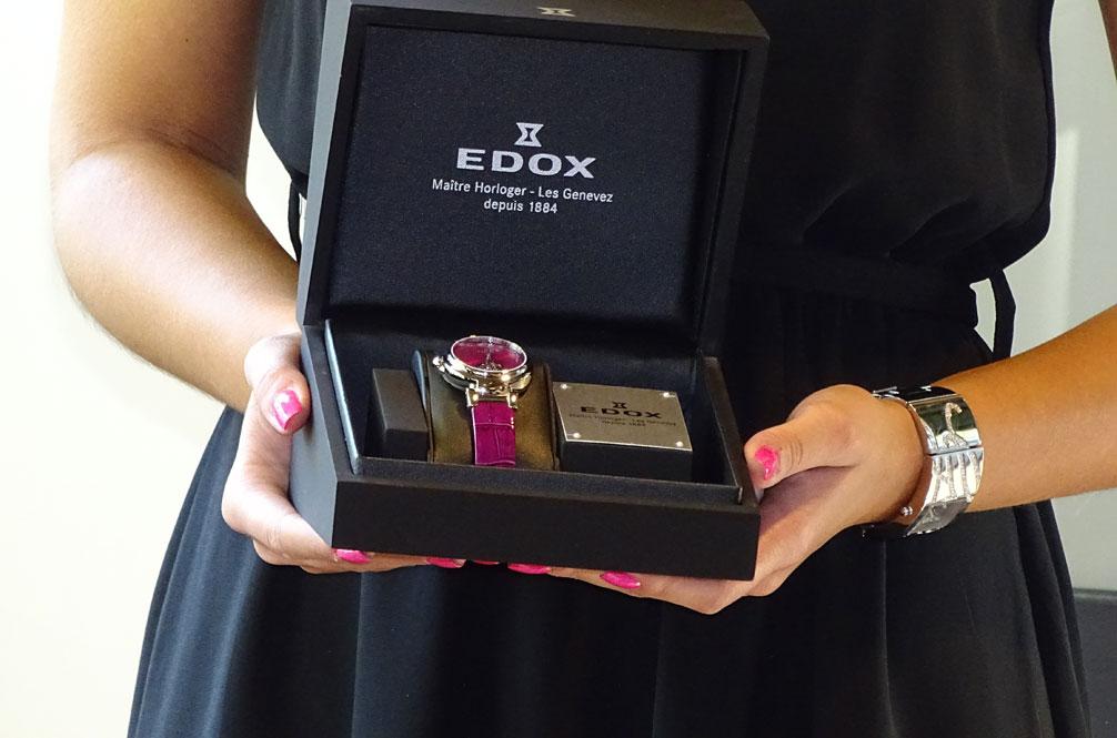 Edox LaPassion Mireia Belmonte - presentación del reloj