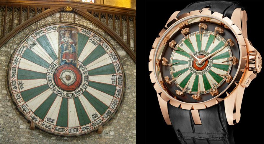 La mesa del Rey Arturo y el Roger Dubuis Roger Dubuis Excalibur Knights of the Round Table - 2013