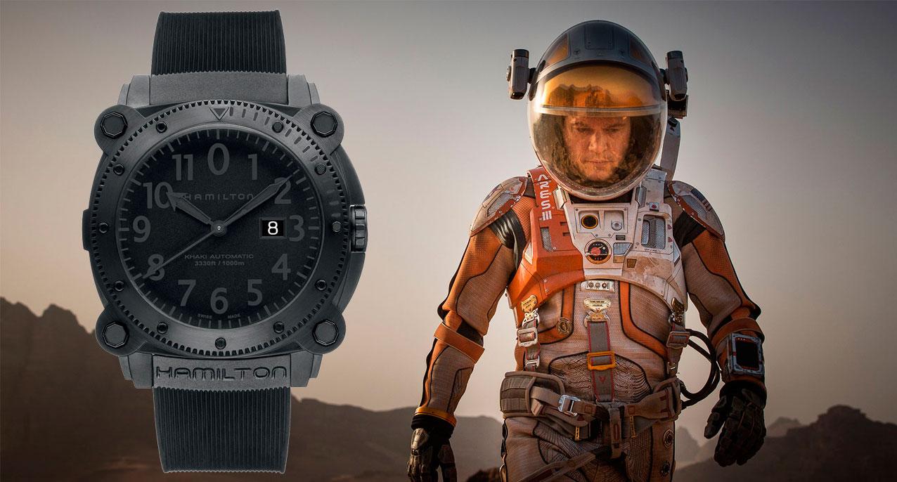 The Martian Matt Damon Hamilton Belowzero
