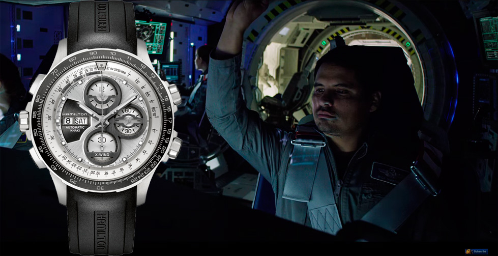 The Martian Michael Peña Hamilton Khaki X-Wind Limited Edition