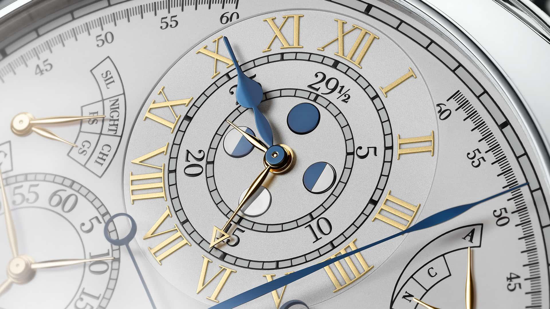 Vacheron Constantin Reference 57260 Tivoli anverso horas