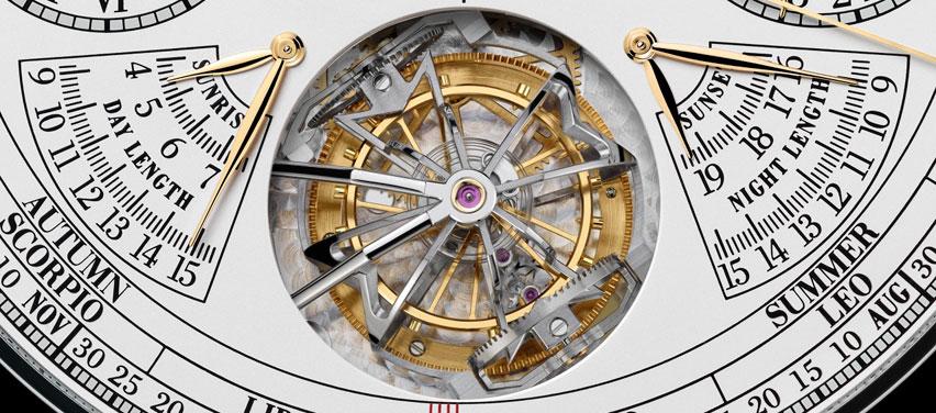 Vacheron Constantin Reference 57260 Tivoli tourbillon e indicadores de amanecer y ocaso