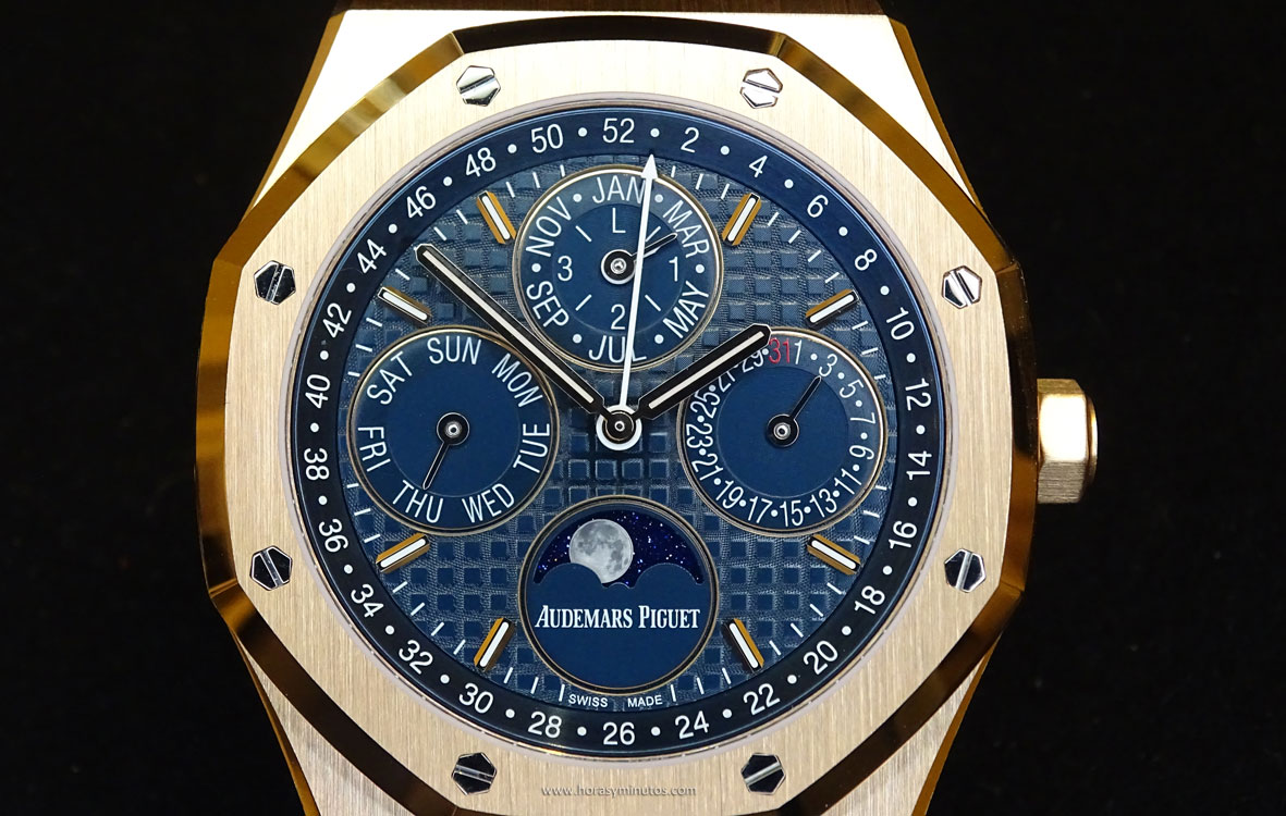 Audemars Piguet Perpetual Calendar oro rosa frontal