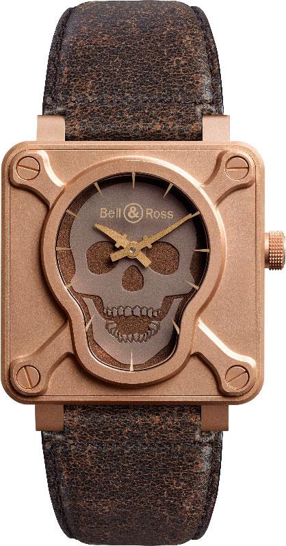 Bell and Ross BR 01 Skull Bronze