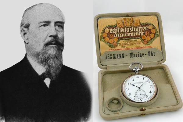 Julius Assmann y su reloj Observador