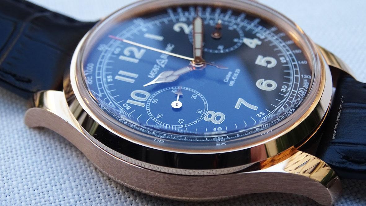 Montblanc 1858 Chronograph Tachymeter Edición Limitada perfil