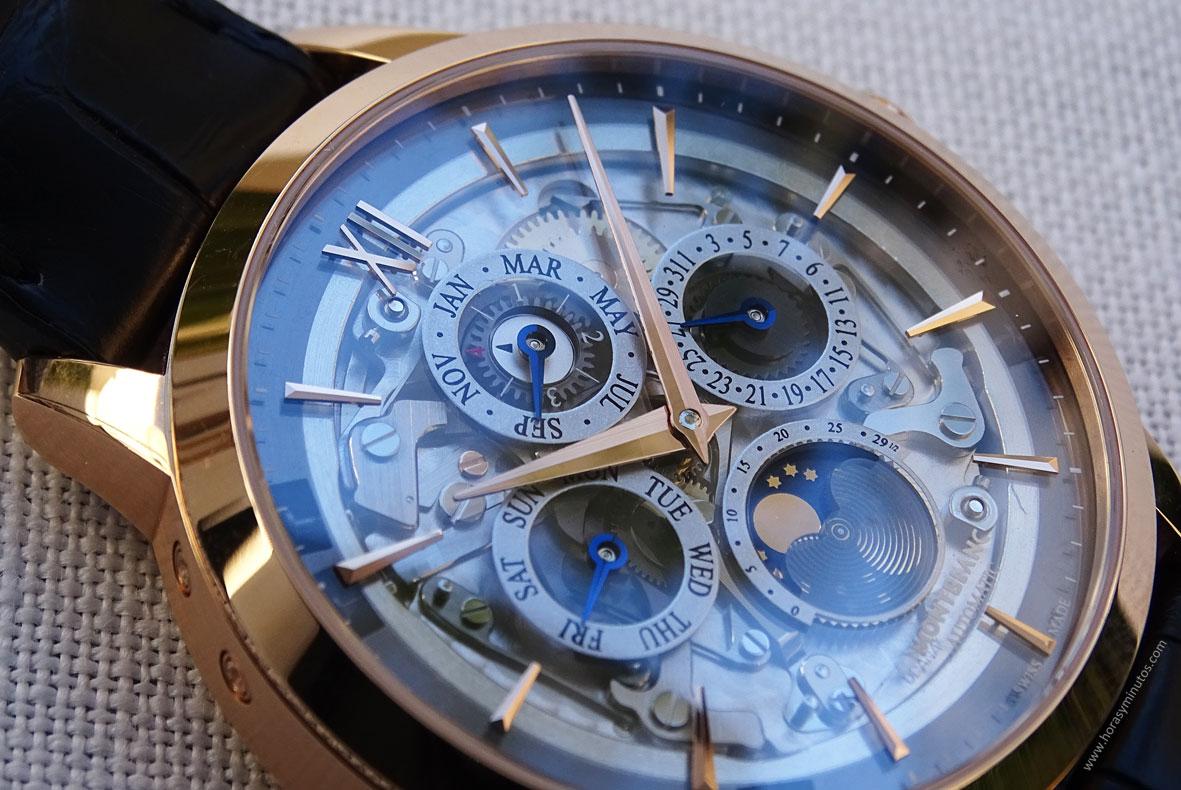 Montblanc Heritage Spirit Perpetual Calendar Sapphire - Indices