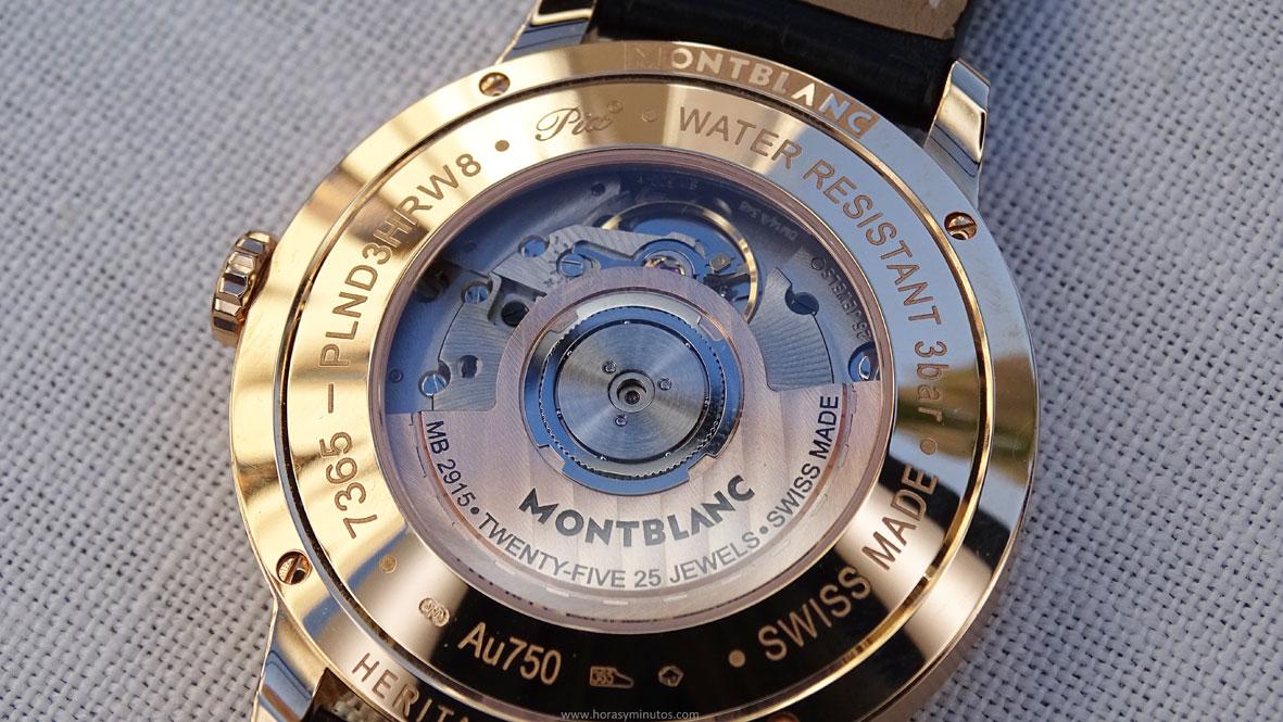 Montblanc Heritage Spirit Perpetual Calendar Sapphire calibre MB 2915
