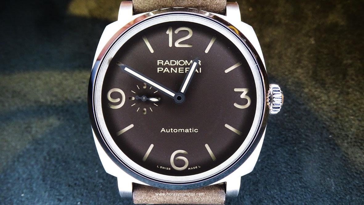 Panerai Radiomir 1940 3 Days Automatic titanio frontal