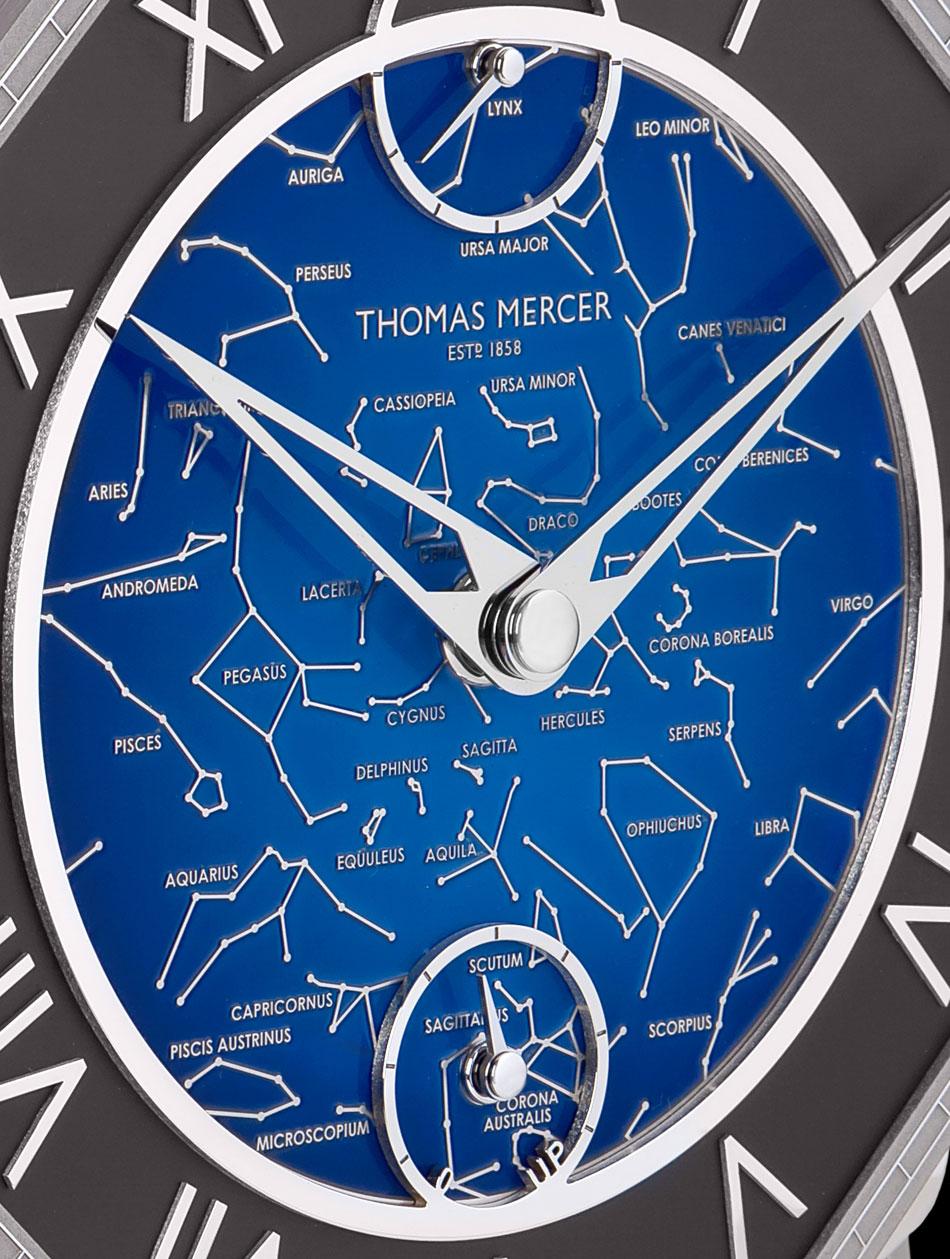 Thomas Mercer Brittanica para Only Watch 2015 detalle de la esfera