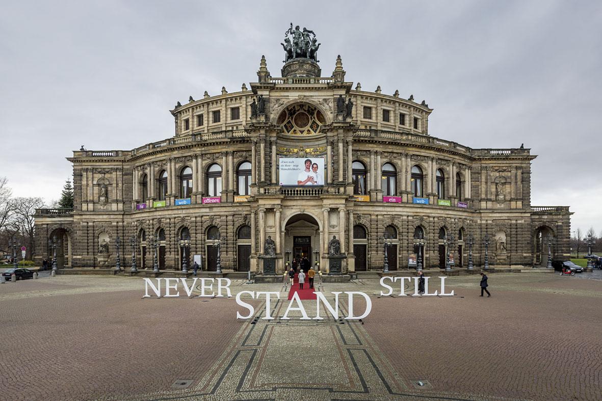 A Lange Sohne Semper Opera Dresde