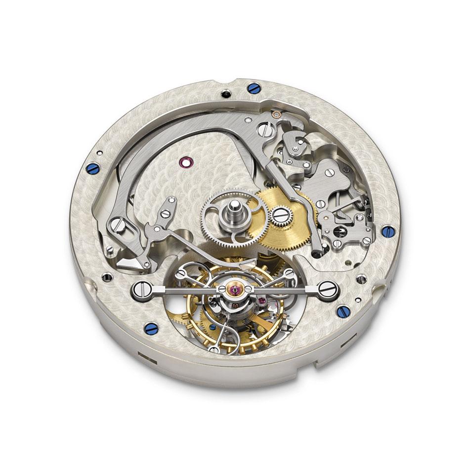 A Lange Sohne1815 Tourbillon Handwerkskunst calibre Lange L102.1 frontal