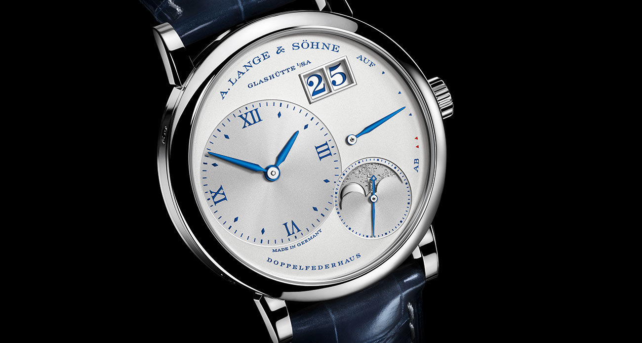A. Lange & Söhne Little Lange 1 Moon Phase portada