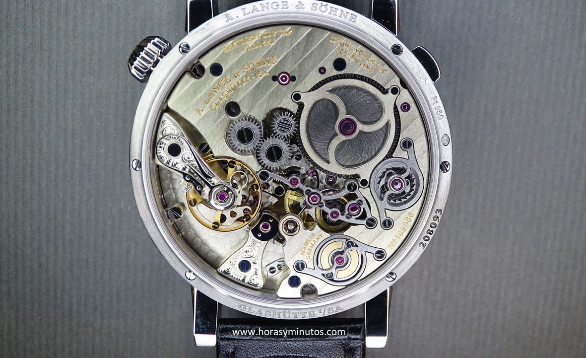 A. Lange & Söhne Zeitwerk Minute Repeater calibre