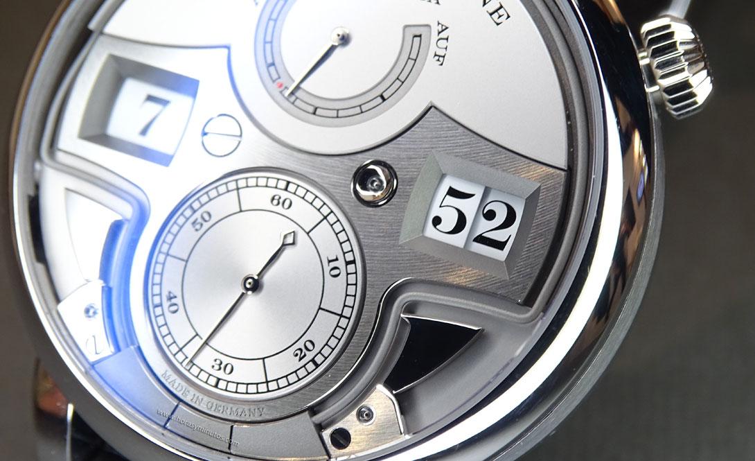 A. Lange & Söhne Zeitwerk Minute Repeater detalle 2