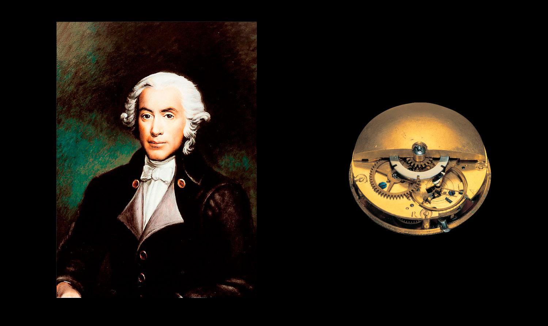 Abraham-Louis Perrelet y el primer calibre automático