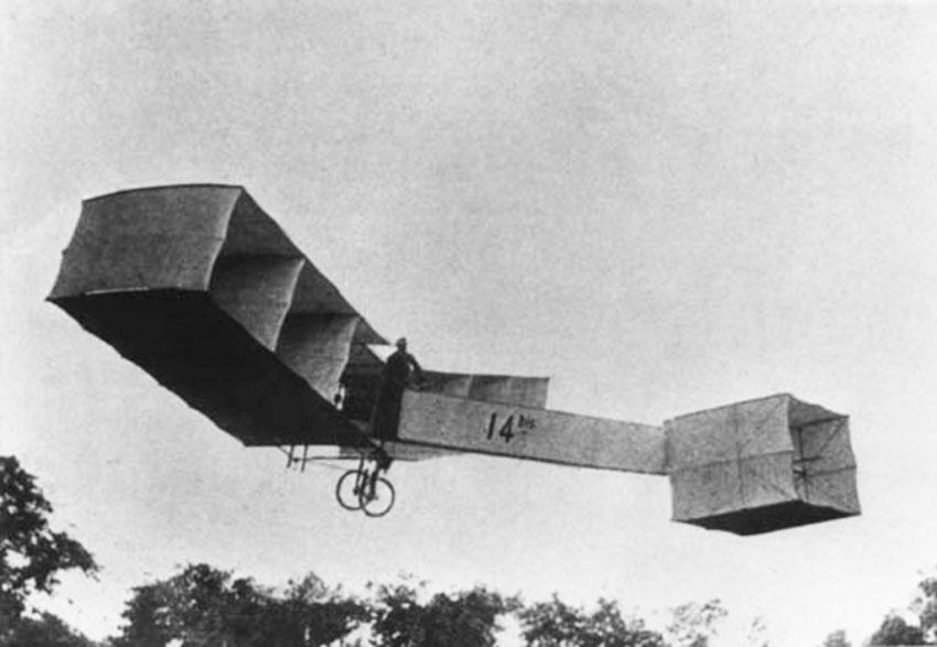 aeroplano de Alberto Santos-Dumont