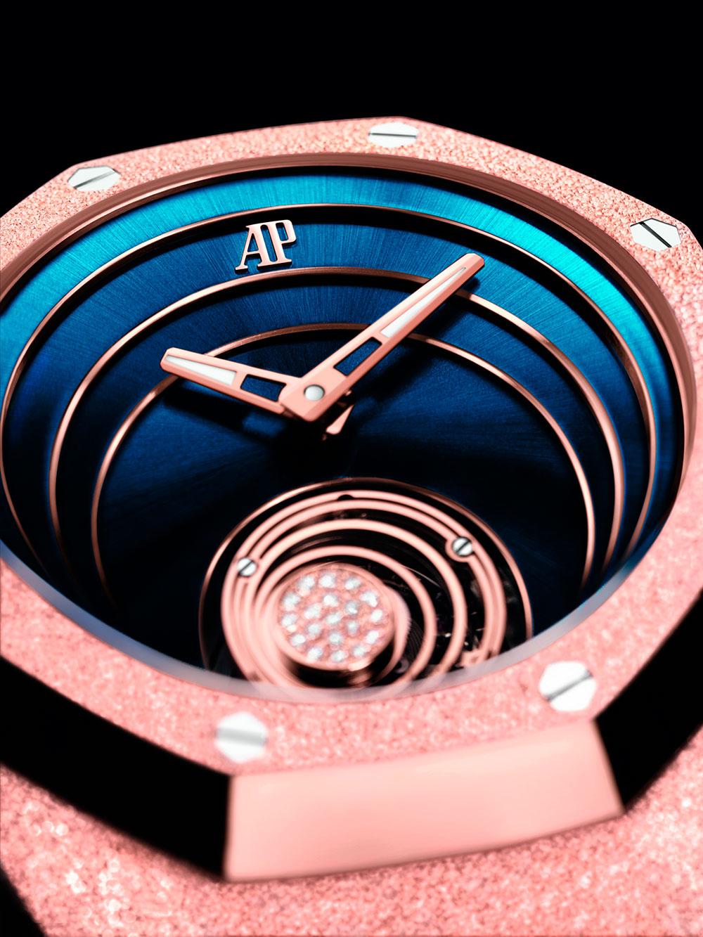 Esfera del Audemars Piguet Royal Oak Concept Flying Tourbillon oro rosa