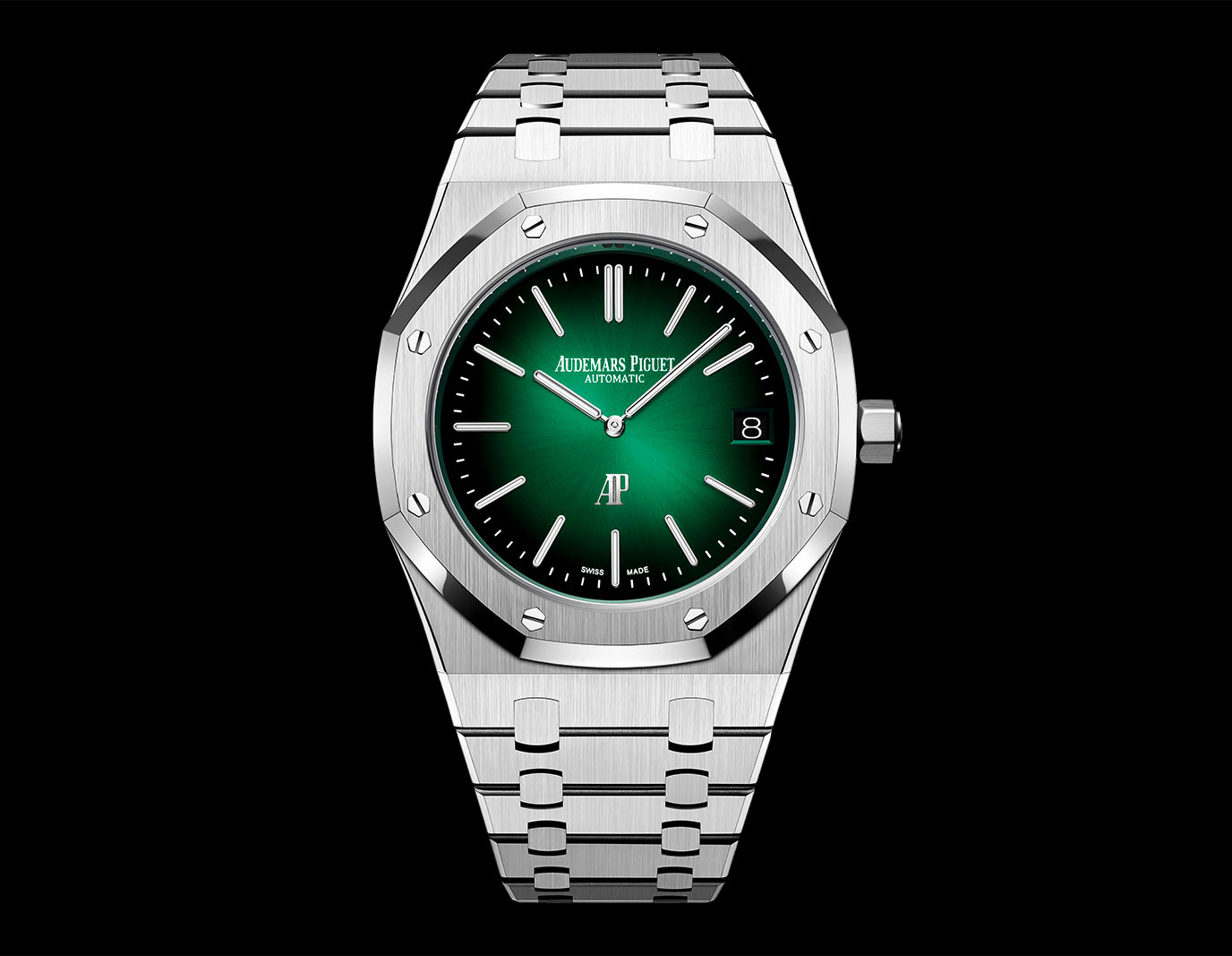 Audemars Piguet Royal Oak Verde Jumbo Extra Thin 15202PT