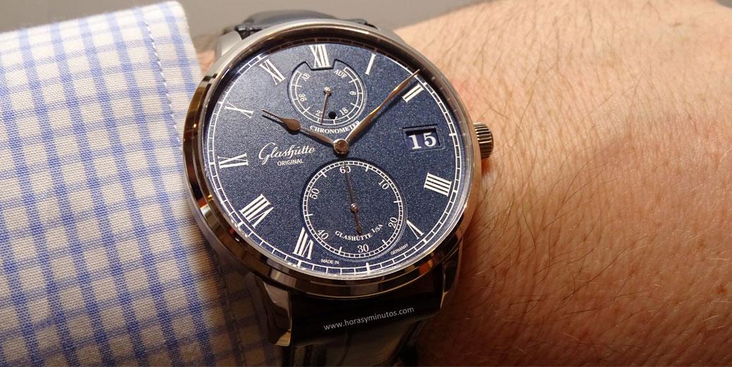 Baselworld-2016-Glashutte-Original-Senator-Chronometer-Azul-Portada1-Horas-y-Minutos