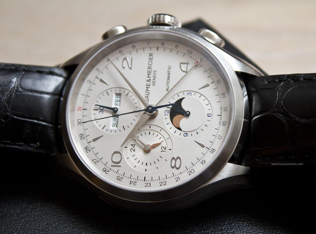 Baume-Mercier-Clifton-Chronograph-Complete-Calendar-3-HorasyMinutos