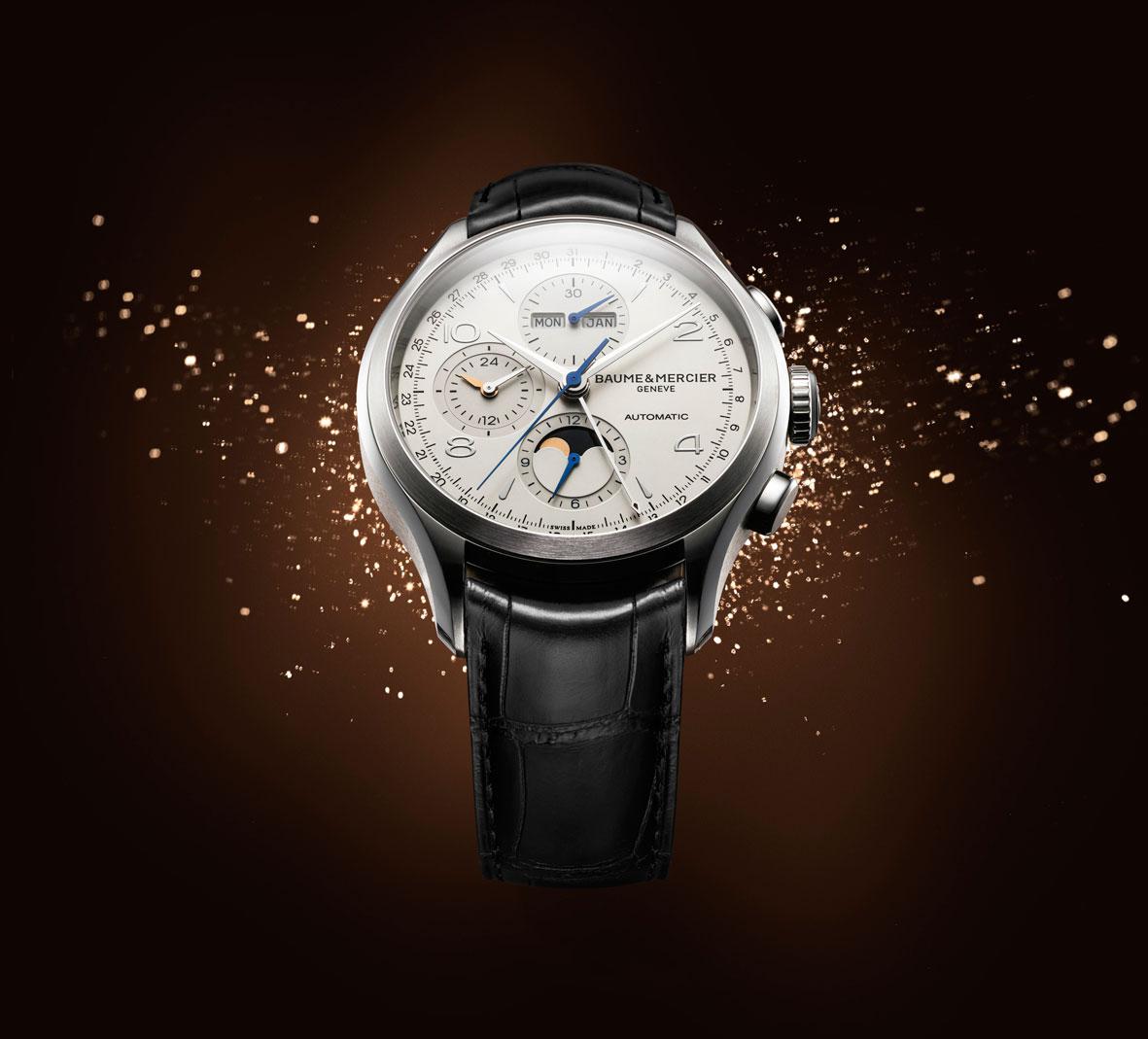 Baume Mercier Clifton Chronograph Complete Calendar amb