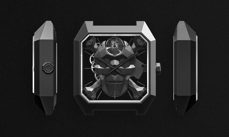 Los tres lados del Bell & Ross BR 01 Cyber Skull
