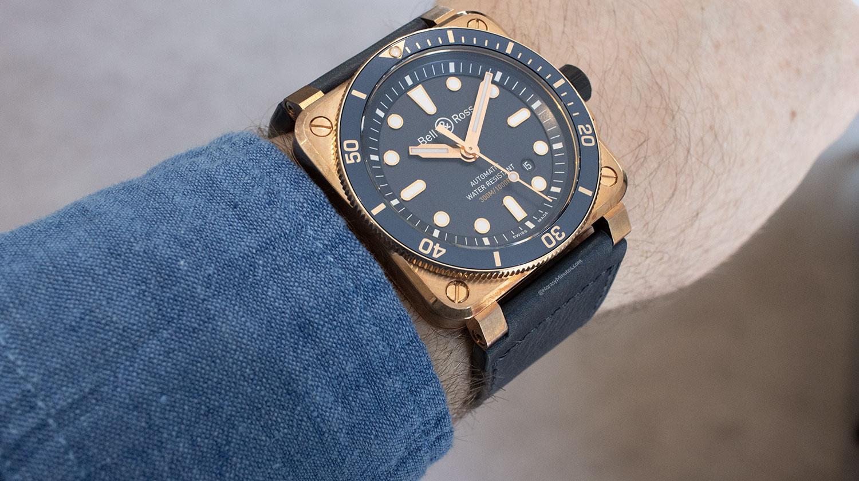 Perfil del Bell & Ross BR 03-92 Diver Blue Bronze