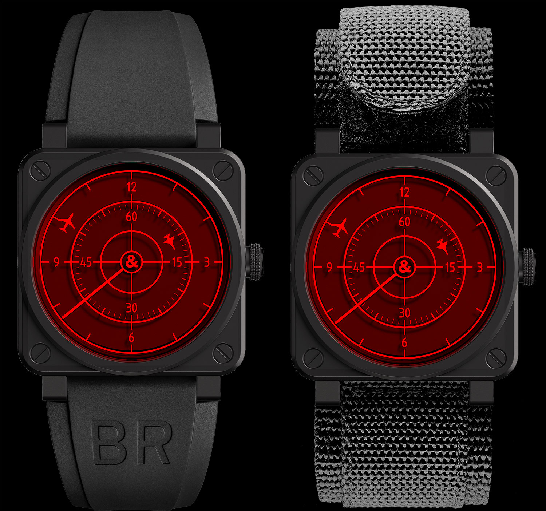 Las dos versiones del Bell & Ross BR 03-92 Red Radar Ceramic