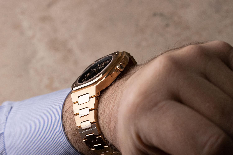 Perfil del Bell&Ross BR05 de oro