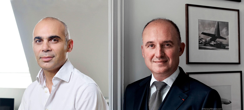 Bell & Ross Bruno Belamich y Carlos Rosillo